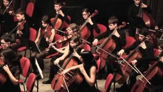 Gluck: Sinfonia en Sol Mayor. Orquesta de Niños de la Sinfónica de Galicia