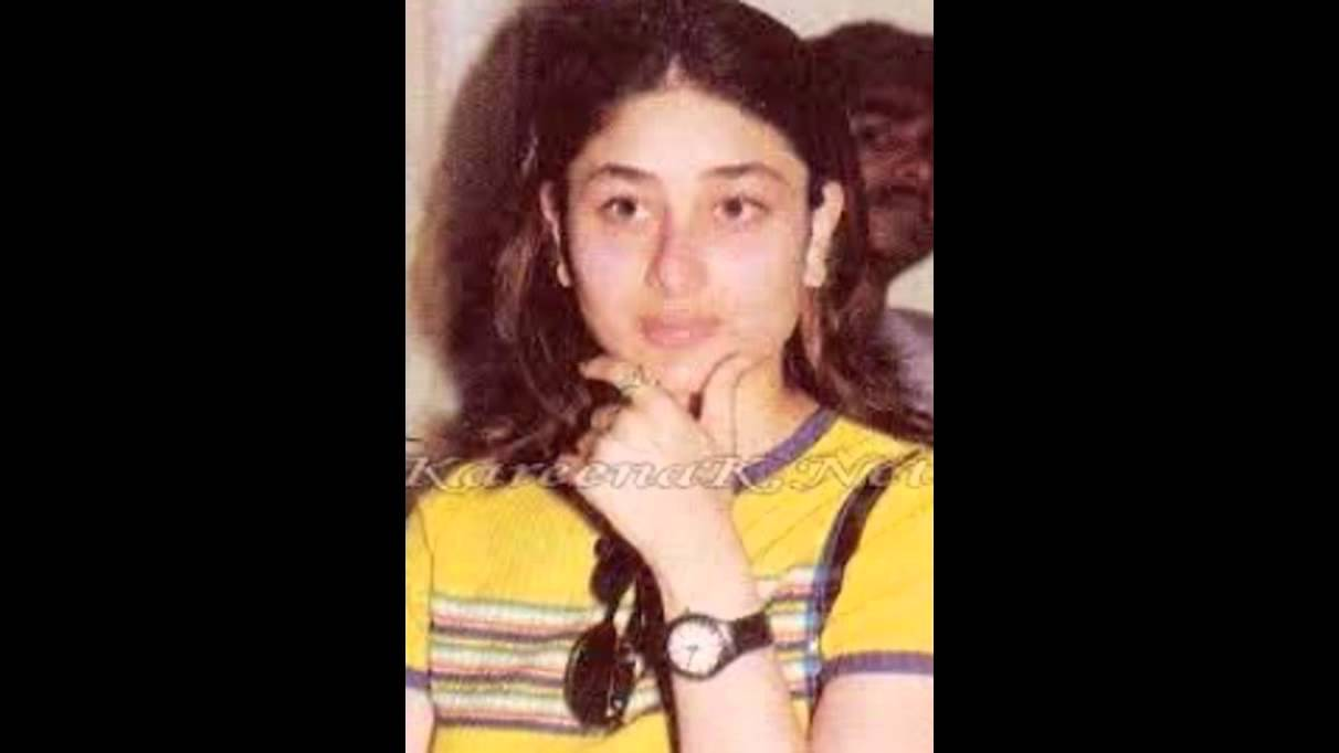 kareena kapoors childhood images youtube