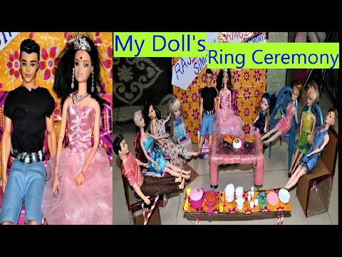 Download My Doll Wedding, part- 2 Raj & Simran's Engagement, The Ring Ceremony ,( In Hindi) #natkhatisuhani,