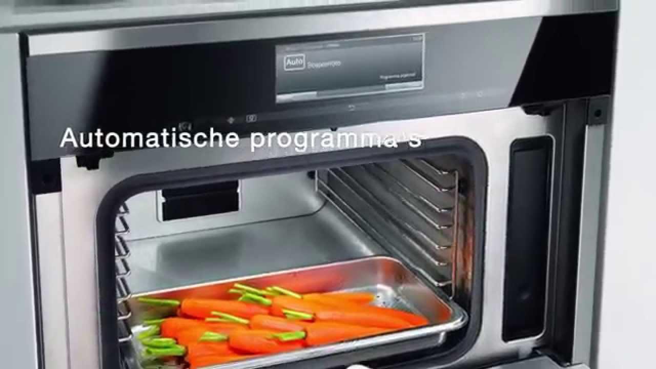 koken met combi oven