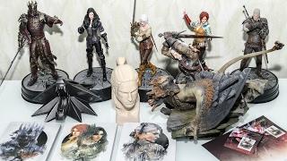 Розпакування п'яти фігурок з Відьмак + Бонуси  The Witcher 3 Wild Hunt