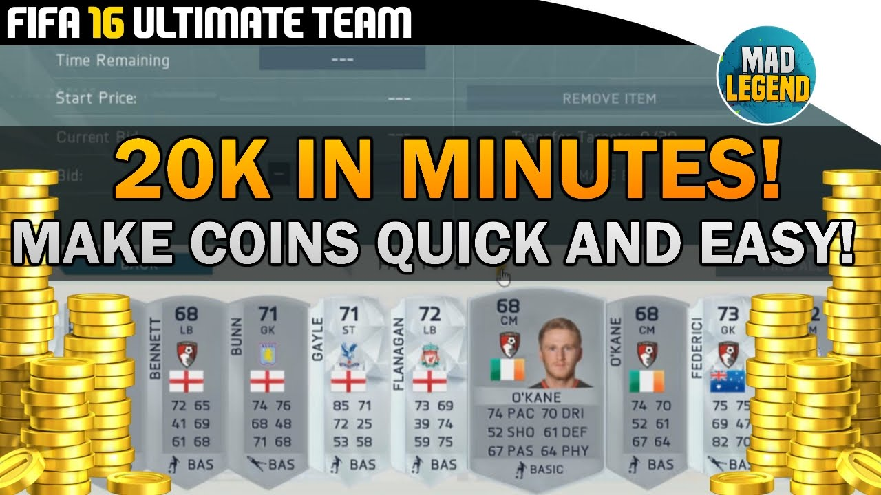 Fifa 16 Ultimate Team Coins
