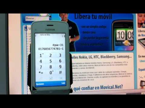 Liberar nokia c5 03 por c digo imei movical net youtube - Movical net liberar ...