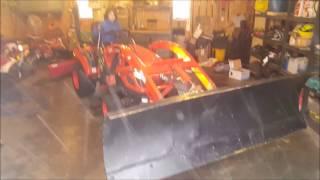 Kioti CS2410 Snow Plow