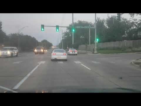 Omaha Nebraska R32 Nissan Skyline GTR cruising the streets.