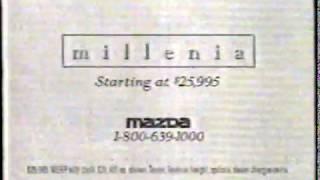 1994 Mazda Millenia Car Commercial