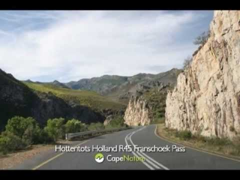 Hottentots Holland Nature Reserve - Franschhoek Pass, R45 Ou Tol