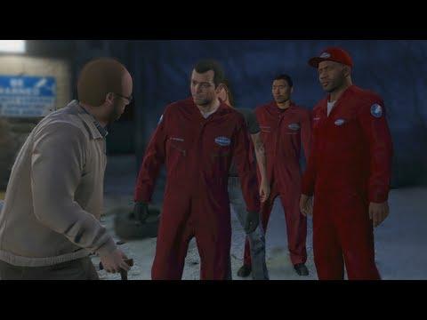 GTA 5 - THE JEWEL STORE JOB / 1ST HEIST MISSION :: XBOX 360 (WALKTHROUGH)