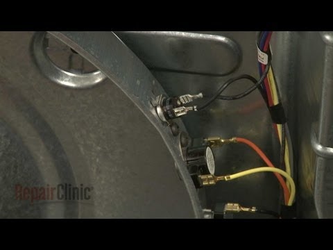 GE Dryer High-Limit Thermostat Replacement #WE4M137 - YouTube on