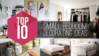 10 Small Bedroom Decorating Ideas