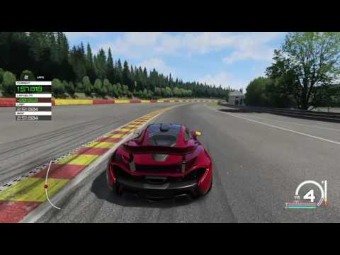 Assetto Corsa PS4: McLaren P1 Gameplay