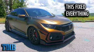 homepage tile video photo for Fixing Everything I Hate About the Civic Type R
