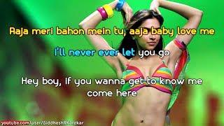 "Love Mera Hit Hit (from ""Billu"") Karaoke / Instrumental with Lyrics"