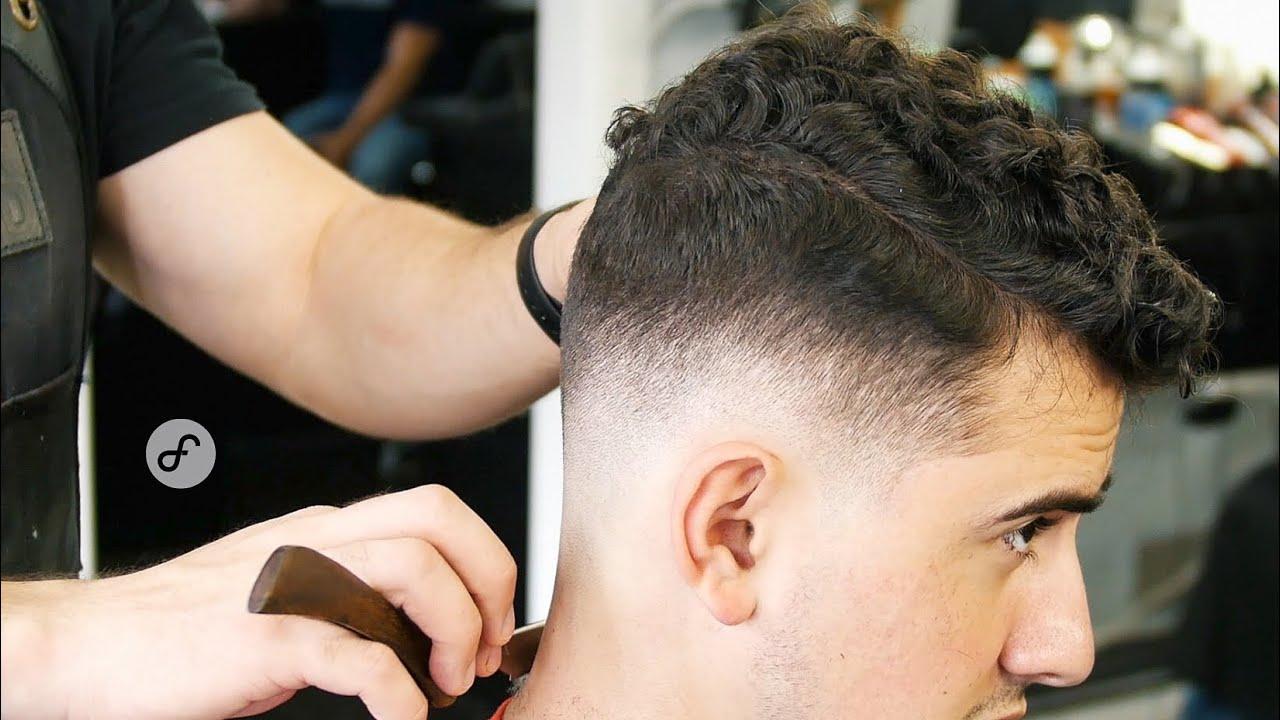 Corte de cabello para hombre chino
