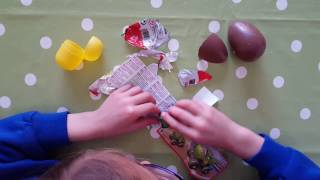 Chocolate Open Egg Video with Lilia - take a look!