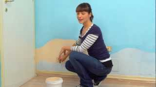 Dipingere la Cameretta come un fondale marino - Parte 1: Disegnare lo sfondo sulle pareti