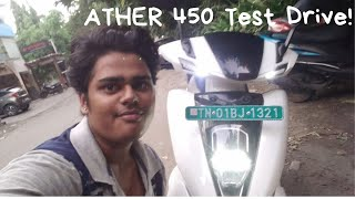 Ather 450 Test Ride!! Walk-Through & First Impressions