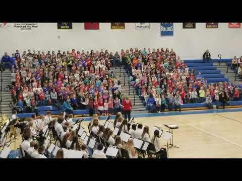 Lovell Elementary School musical salute to veterans