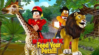 ROBLOX - FEED YOU PETS!!