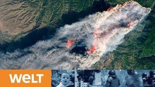 VERHEERENDE WALDBRÄNDE: Zahl der Toten in Kalifornien steigt sprunghaft