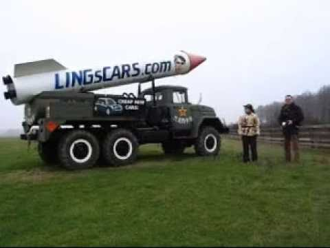 LINGsCARS - Financial Times Photoshoot With My Nuclear Truck
