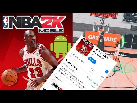 NBA 2K MOBILE Download TUTORIAL And Android RELEASE Date