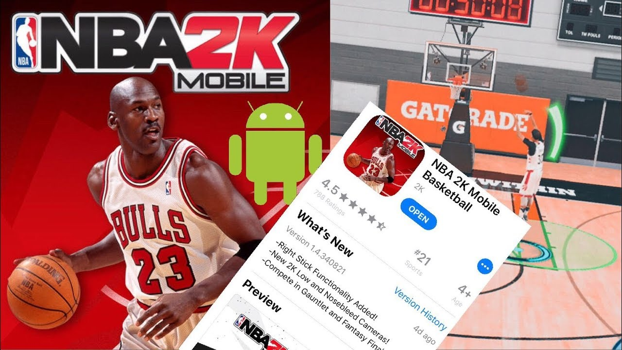 nba 2k mobile download