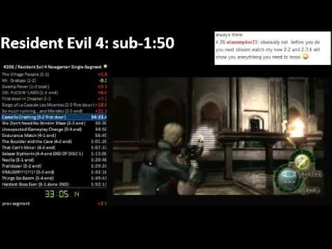 Resident Evil 4: We Apologize for the Inconvenience (contains a 1:53:13 run)