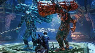 God of War PS4 - Grendel of The Ashes and Frost Boss Fight #11 (Give Me God of War Hard Difficulty)