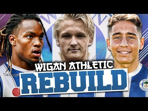 REBUILDING WIGAN ATHLETIC!!! FIFA 18 Career Mode