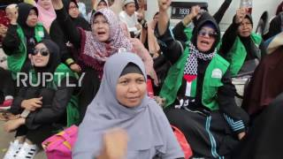 Video Indonesia: Anti-Ahok protesters picket Governor's trial in Jakarta download MP3, 3GP, MP4, WEBM, AVI, FLV Desember 2017
