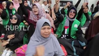 Video Indonesia: Anti-Ahok protesters picket Governor's trial in Jakarta download MP3, 3GP, MP4, WEBM, AVI, FLV Oktober 2017