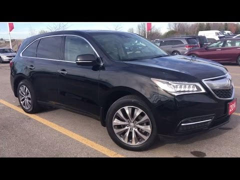 2014 acura mdx w technology package whitby oshawa honda stock u3808 youtube. Black Bedroom Furniture Sets. Home Design Ideas