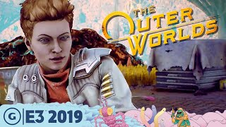 Why The Outer Worlds Is Not Just Another Fallout | E3 2019
