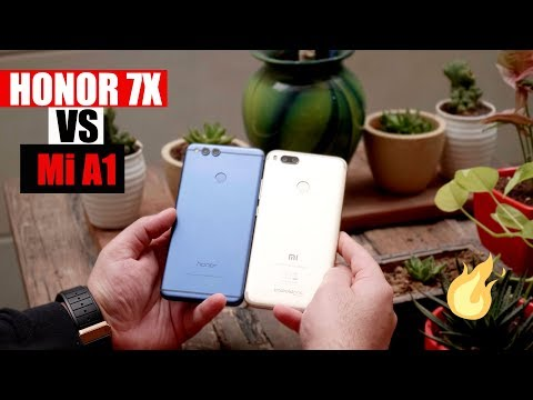 Honor 7X Vs Mi A1 - Best Phone Under Rs. 15000 ?
