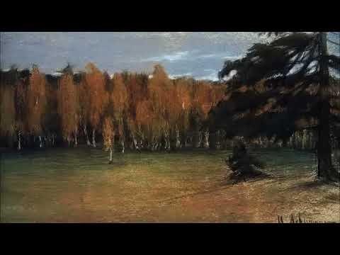 Картины пейзажиста Левитана под пение птиц