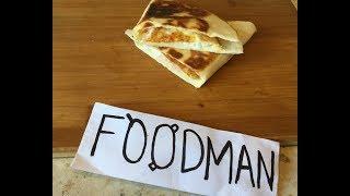 Лепешка тортилья с яйцом и сыром: рецепт от Foodman.club