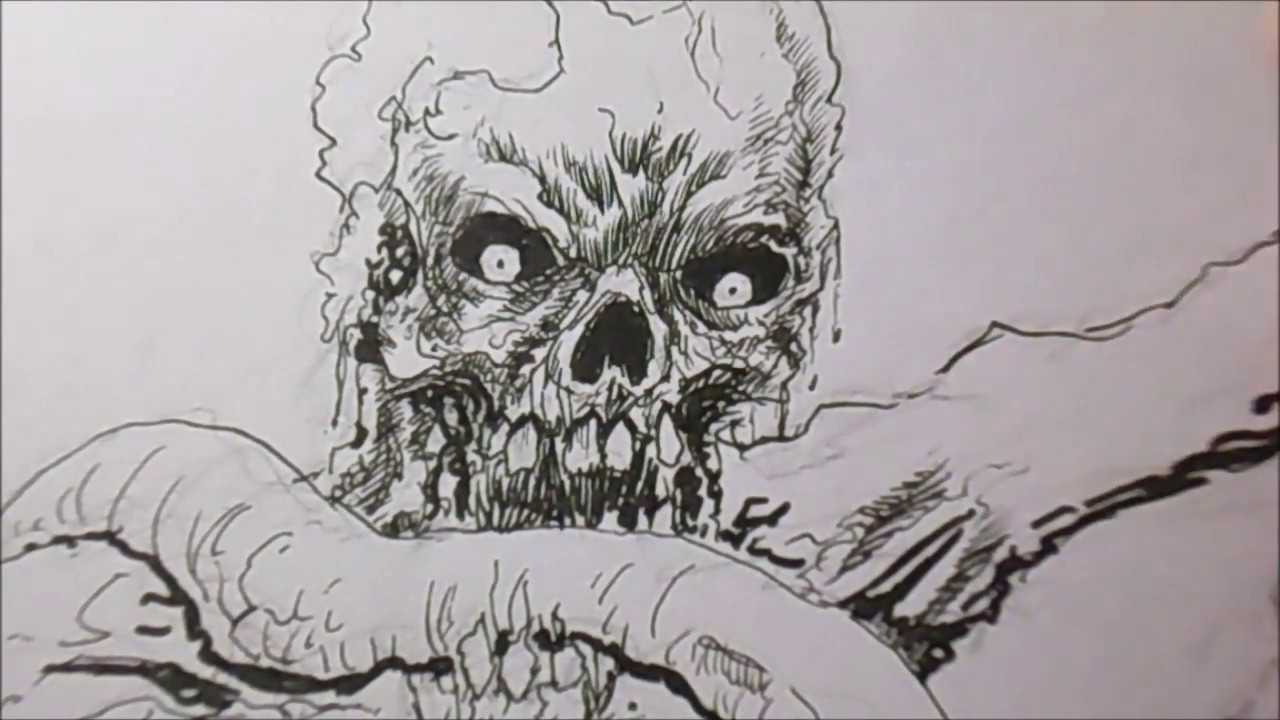 How To Draw Horror Art