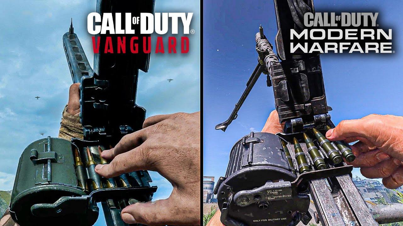 Call of Duty Vanguard vs Modern Warfare - Weapons Comparison