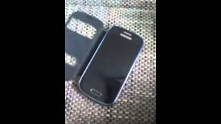 Samsung Galaxy s III mini : S View Cover Rewiew