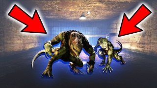 GTA 5: SECRET ALIEN LIZARD PEOPLE FOUND!! (GTA 5 Mystery)