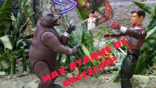 max steel ataque de grizzly
