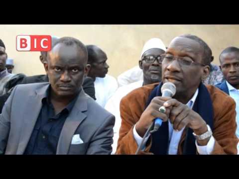 Cheikh Dieng défie Aliou Sall  à propos du marché Boubess
