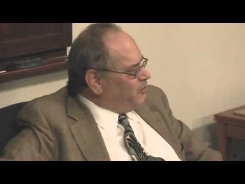 Michael Silverblatt speaks at Cornell University