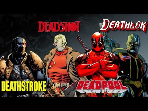 Deadpool, Deadshot, Deathstroke, Deathlok - Which is Which ...