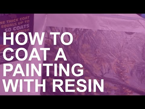 How to Coat a Painting with Resin