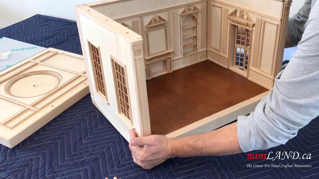 Dollhouse Miniature 1:12 Scale Running Trim