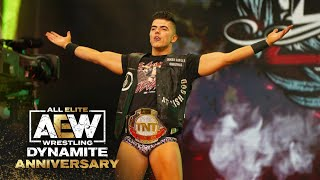 Was Sammy Guevara able to defend the TNT Championship v Bobby Fish?   AEW Dynamite: Anniversary