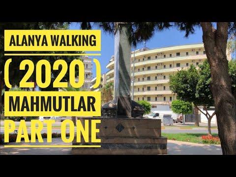 alanya walking 2020 - mahmutlar shops - part one
