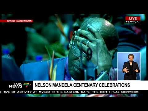 Kgalema Motlanthe speaks at Mandela centenary celebrations